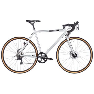 Vélo de Ville FIXIE INC. FLOATER RACE STREET DISC 8V Argent 2020